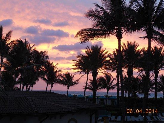 Marriott's Ocean Pointe: Sunset