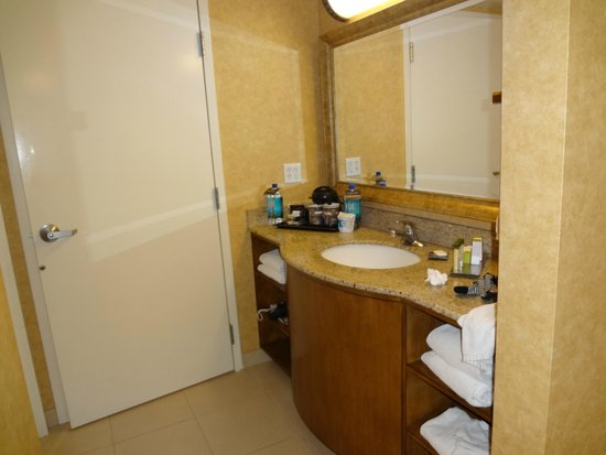 Doubletree Suites by Hilton Hotel Anaheim Resort - Convention  Center: 洗面所