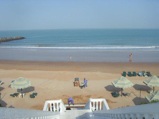 Bin Majid Beach Resort : Пляж отеля