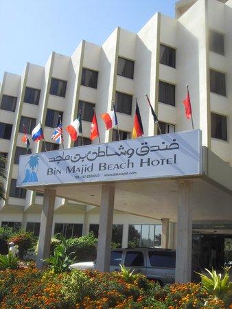 Bin Majid Beach Resort : Вот он Bin Majig Beach