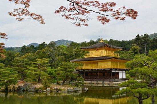 Templo del Pabellón de Oro (Kinkaku-ji): the photogenic temple