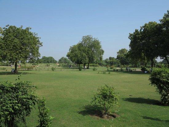 Rani Ki vav: Surrounding lawns