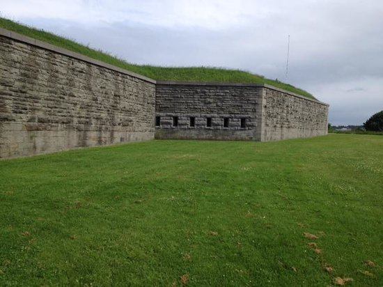 Fort Ontario State Historic Site: More outside walls of fort