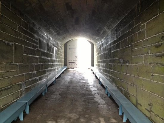 Fort Ontario State Historic Site: Passageway to inside of fort
