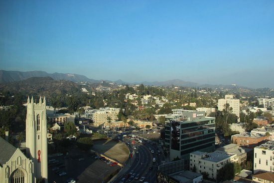 Loews Hollywood Hotel: Vista desde la habitación