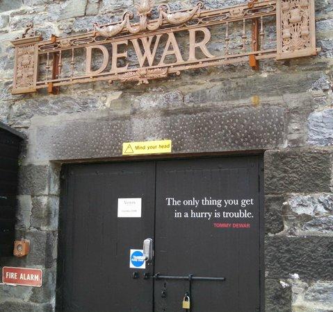 About Scotland: Aberfeldy Distillery