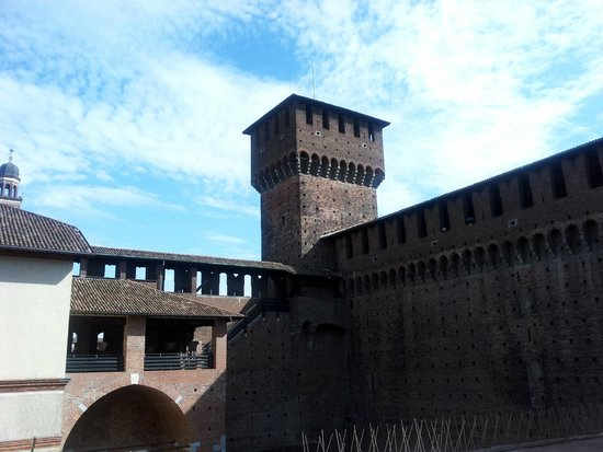 A tower of the Castello Sforzesco