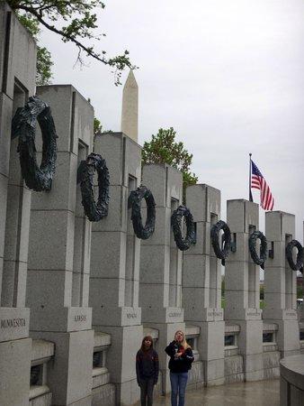 Monumento Nacional de la Segunda Guerra Mundial: Each state represented