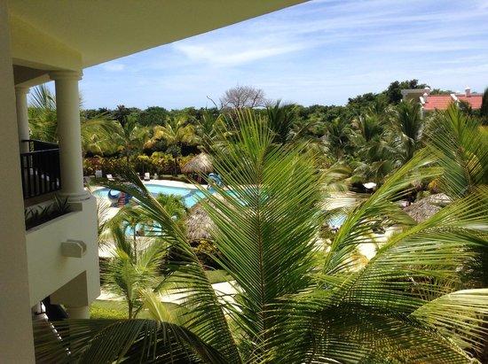 The Reserve at Paradisus Punta Cana: Vista da sacada do quarto