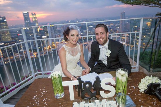 Solemnization Ceremony at Sky on 57