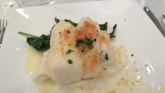 Olivadi Restaurant & Bar: Parmesan encrusted cod