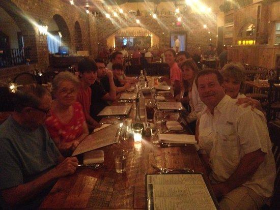 Osteria Cicchetti : ordering dinner
