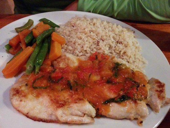 Casa Hood: Chicken w/ vegetables, nicely prepared