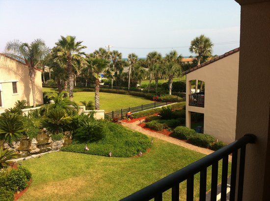 La Fiesta Ocean Inn & Suites: Southeastern view from of our balcony