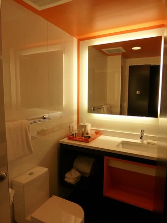 THE BATHROOM Picture Of Courtyard By Marriott New York Manhattan Amazing Central Park Bathrooms