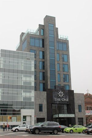 The One Boutique Hotel: Front view