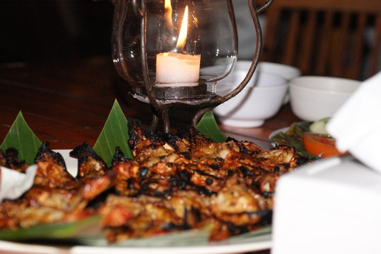 Le Meridien Bali Jimbaran : seafood on the beach