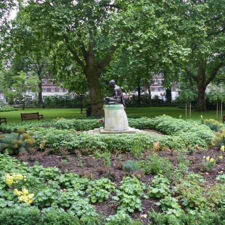 Gandhi Statue in Tavistock Square