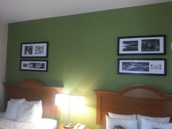 Sleep Inn And Suites: Far wall