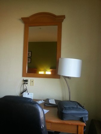Sleep Inn And Suites: One tiny mirror