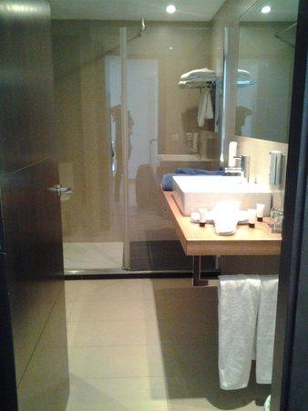 Las Gaviotas Suites Hotel : badkamer