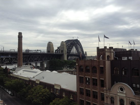 Holiday Inn Old Sydney : From pool deck