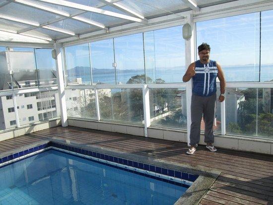 Mar de Canasvieiras Hotel & Eventos: Vista da piscina