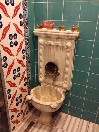 Sultan Corner Hotel: В ванной