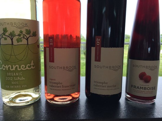 Niagara Vintage Wine Tours: wine selections for testing