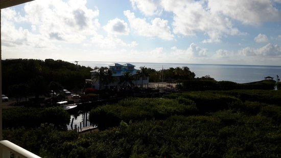 Ocean Pointe Suites at Key Largo: View from the balcony