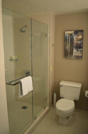 Manchester Grand Hyatt San Diego : Bathroom in King Room