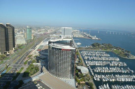 Manchester Grand Hyatt San Diego: View from Window