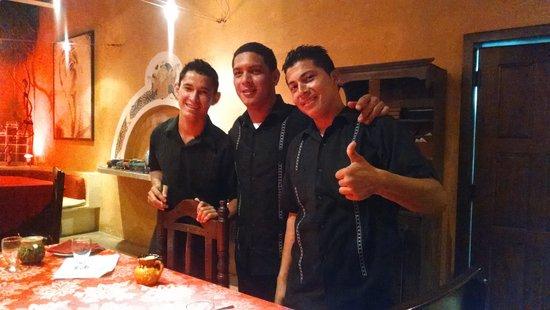 Matachica Resort & Spa: My pals!