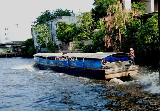 Khlong Saen Saep : boat saen saeb