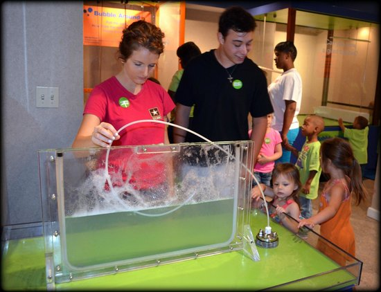 The Magic House: bubble fun