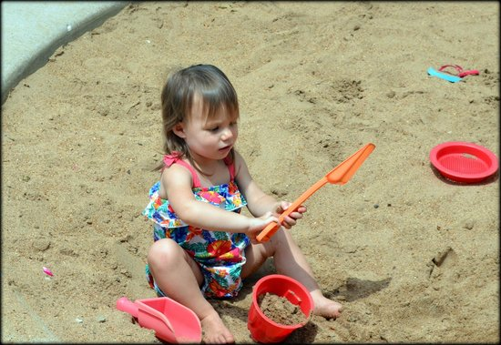 The Magic House: front sand pit