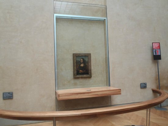 Musee du Louvre: The Mona Lisa