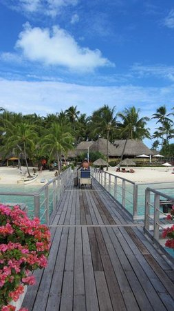 InterContinental Bora Bora Le Moana Resort: Before security stopped me LOL