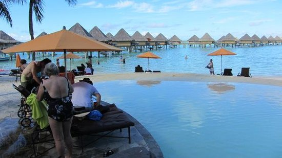 InterContinental Bora Bora Le Moana Resort: From pool