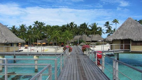 InterContinental Bora Bora Le Moana Resort: Before being told to leave the area!