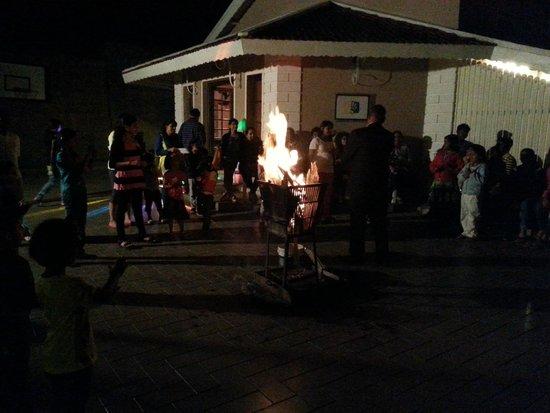 Club Mahindra Derby Green: Fire Dance
