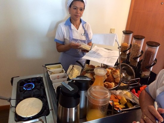 Affinity Apart Hotel : Unique breakfast experience. A+