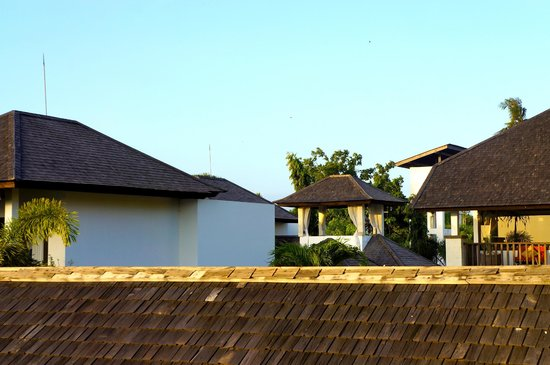 Puri Tirta Villas: View from Balcony