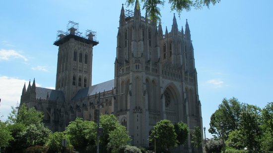 Washington National Cathedral : National Cathedral - exterior