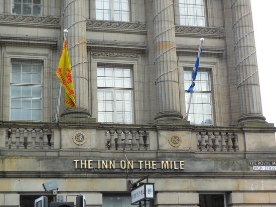 The Inn on the Mile: The front of the Inn