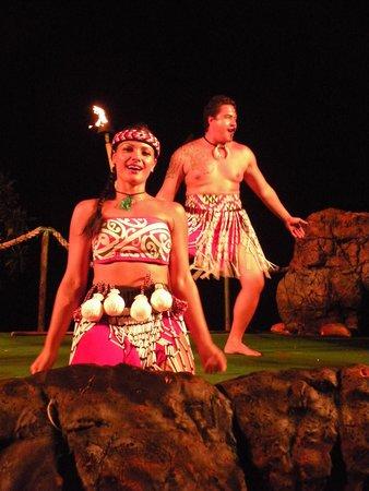 Royal Kona Resort Luau: Luau entertainment
