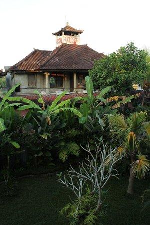 Tanah Semujan Ubud : view from top floor rooms