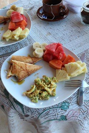 Tanah Semujan Ubud: breakfast!