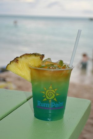 The Rum Point Club Restaurant: The Blue Iguana