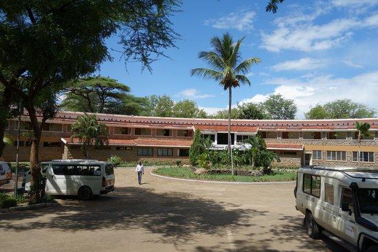 Lake Bogoria Spa Resort: ボゴリア湖から近い